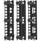 Tripp Lite SmartRack SRCABLEVRT3 Vertical Cable Manager - Black