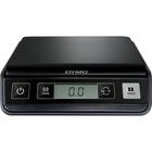 Dymo Pelouze Digital Postal Scale - 5 lb / 2.20 kg Maximum Weight Capacity - Black, Silver
