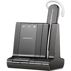 Plantronics Savi W740-M Earset - Mono - Wireless - DECT - 393.7 ft - Over-the-head, Behind-the-neck, Over-the-ear - Monaural - Open - Noise Cancelling Microphone