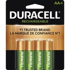 Duracell DX1500 General Purpose Battery - For Multipurpose - Battery Rechargeable - AA - 1.2 V DC - 2000 mAh - Nickel Metal Hydride (NiMH) - 4 / Pack