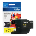 Brother Innobella LC71Y Original Ink Cartridge - Inkjet - 300 Pages - Yellow - 1 Each