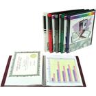 Winnable Document Saver - 20 Pockets Capacity - Rectangular - Polypropylene - Blue