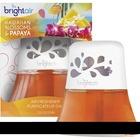 Bright Air Scented Oil Air Freshener - Liquid - 70.9 g - Hawaiian Blossom, Papaya - 45 Day - 1 / Each