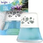 Bright Air Scented Oil Air Freshener - Liquid - 70.9 g - Calm Water, Spa - 45 Day - 1 / Each