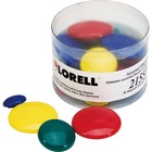 Lorell Magnets Assortment - Small, Medium, Large - 30 / Pack - Assorted