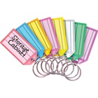 "MMF Multi-colored Key Tag Replacements - 0.81"" (20.64 mm) x 2.25"" (57.15 mm) x 0.25"" (6.35 mm) x - 4 / Pack - Assorted"