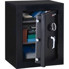 "Sentry Safe Fire-Safe Executive Safe - 96.28 L - Electronic Lock - Water Resistant, Fire Resistant - Internal Size 25.8"" x 19.4"" x 11.7"" - Overall Size 27.8"" x 21.7"" x 19"" - Black"