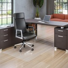 "Deflecto Polycarbonate Chairmat for Hard Floors - Hard Floor - 60"" (1524 mm) Length x 46"" (1168.40 mm) Width - Rectangle - Polycarbonate - Clear"