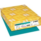"""Astrobrights Laser, Inkjet Colored Paper - 30% Recycled - Letter - 8 1/2"""" x 11"""" - 24 lb Basis Weight - 500 / Ream - Terrestrial Teal"""