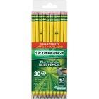Ticonderoga Presharpened No. 2 Pencils - #2 Lead - Yellow Cedar Barrel - 30 / Box