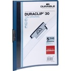 "DURABLE Duraclip Report Covers - Letter - 8 1/2"" x 11"" Sheet Size - 30 Sheet Capacity - Vinyl - 1 Each"