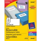 "Avery® File Folder Label - Removable Adhesive - 2"" Width x 4"" Length - Rectangle - Laser, Inkjet - White - 1 Pack"