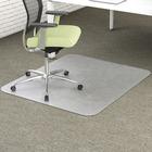 "Deflecto EnvironMat for Carpet - Carpeted Floor - 48"" (1219.20 mm) Length x 36"" (914.40 mm) Width - Polyethylene Terephthalate (PET) - Clear"