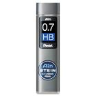 Pentel Mechanical Pencil Refill - 0.7 mmMedium Point - HB - Black - 1 Tube
