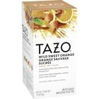 Tazo Wild Sweet Orange Tea - Decaffeinated, Herbal Tea - Wild Sweet Orange, Lemongrass, Citrus Herb, Licorice Root, Orange, Spice, Floral, Blackberry Leaf, Ginger - 24 Packet - 24 / Box