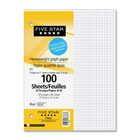 """Hilroy Loose-Leaf Refill Paper - 100 Sheets - 24 lb Basis Weight - 10 7/8"""" x 8 3/8"""" - White Paper - Heavyweight, Tear Resistant - 100 / Pack"""