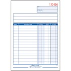 "Adams Statement Forms Book - 50 Sheet(s) - 2 PartCarbonless Copy - 8.43"" x 5.56"" Form Size - White, Yellow - 1 Each"