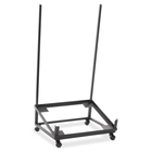 """Global Sonic Contemporary Stacking Chair Dolly - 22.3"""" x 21.5"""" x 10.5"""" - Black"""