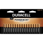 Duracell Coppertop Alkaline AAA Battery - MN2400 - For Multipurpose - AAA - 1.5 V DC - Alkaline Manganese Dioxide - 16 / Each
