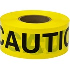 Scotch Barricade Tape 301, CAUTION, 3 in x 300 ft, Yellow