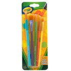 Crayola Synthetic Brushes, Assorted, Pack Of 5