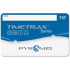 "Pyramid TimeTrax Swipe Card (#51-100) - Magnetic Stripe Card - 3.62"" Width x 2.13"" Length - 50 - Pack"