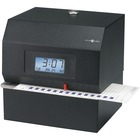 Pyramid Time Systems 3700 Heavy-duty Electric Time Clock - Card Punch/StampUnlimited Employees - Digital - Date, Time, Year Record Time
