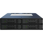 "Icy Dock MB994SP-4SB-1 4 in 1 SATA Hot Swap Backplane RAID Cage - 4 x HDD Supported - 4 x SSD Supported - RAID Supported 5 - 4 x Total Bays - 4 x 2.5"" Bay - Internal"