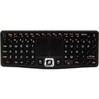 VisionTek Wireless Mini Keyboard with Touchpad - Wireless Connectivity - RF - 30 ft (9144 mm) - 2.40 GHz - USB InterfaceTouchPad - PC - Black