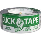 "Duck Brand Basic Strength Duct Tape - 55 yd (50.3 m) Length x 1.88"" (47.8 mm) Width - 6 mil (0.15 mm) Thickness - 3"" Core - Cotton Backing - 1 Roll - Gray"