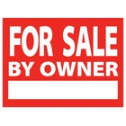 FOR SALE BY OWNER Sign W/Stand