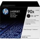HP 90X (CE390XD) Original Toner Cartridge - Dual Pack - Laser - 24000 Pages - Black - 2 / Box