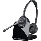 Plantronics CS520 Over-the-head Binaural - Stereo - Wireless - DECT - 350 ft - Over-the-head - Binaural - Semi-open - Noise Cancelling Microphone