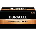 Duracell CopperTop General Purpose Battery - For Multipurpose - 9V - 9 V DC - Alkaline Manganese Dioxide - 12 / Box