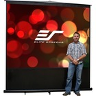"""Elite Screens Reflexion FM100V 100"""" Projection Screen - Front Projection - 4:3 - MaxWhite - 60"""" x 80"""" - Floor Mount"""