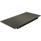 "Tripp Lite SmartRack Drip Resistant Roof - Black - 1 Pack - 3.10"" (78.74 mm) Height - 23.40"" (594.36 mm) Width - 44.40"" (1127.76 mm) Depth"