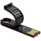 Verbatim 64GB Micro Plus USB Flash Drive - Black - 64 GB - USB 2.0 - Black - Lifetime Warranty - TAA Compliant