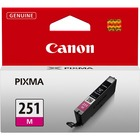 Canon CLI251M Original Ink Cartridge - Inkjet - Magenta - 1 Each