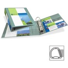 """Avery® 1-Touch Heavy-duty EZD Lock Ring View Binder - 2"""" Binder Capacity - Letter - 8 1/2"""" x 11"""" Sheet Size - Ring Fastener(s) - 4 Pocket(s) - Chipboard - Sea Foam Green - Heavy Duty, Gap-free Ring, Non-stick, Archival-safe, Divider, PVC-free - 1 Each"""