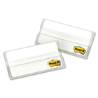 "Post-it® Tab Divider - Write-on Tab(s) - 1.50"" Tab Height x 2"" Tab Width - White Tab(s) - 24 / Pack"