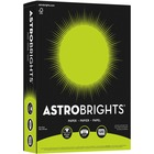 "Astrobrights Inkjet, Laser Print Colored Paper - Letter - 8 1/2"" x 11"" - 24 lb Basis Weight - Smooth - 500 / Pack - Terra Green"