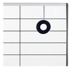 "Quartet Adhesive Whiteboard Gridding Tape - 18 yd (16.5 m) Length x 0.06"" (1.6 mm) Width - 1 Each - Black"