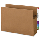 """Smead File Pocket - Legal - 9 1/2"""" x 14 5/8"""" Sheet Size - 700 Sheet Capacity - 5 1/4"""" Expansion - Straight Tab Cut - Redrope, Tyvek, Paper - 154.2 g - Recycled - 1 Pack"""
