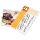 """Swingline HeatSeal UltraClear Laminating Pouch - Sheet Size Supported: Index Card - Laminating Pouch/Sheet Size: 5.50"""" Width x 3.50"""" Length x 5 mil Thickness - Type G - Glossy - for Index Card - Clear - 25 / Pack"""