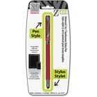 Zebra Pen Z-1000 Ballpoint/Stylus Combo Pen - Medium Pen Point - 1 mm Pen Point Size - Refillable - Black - Metal Barrel - 1 Each