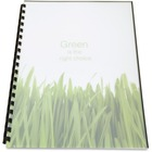 """GBC Binding Presentation Covers - For Letter 8 1/2"""" x 11"""" Sheet - Frost - Polypropylene - 25 / Pack"""