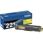 Brother TN221Y Original Toner Cartridge - Laser - Standard Yield - 1400 Pages - Yellow - 1 Each