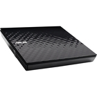 Asus SDRW-08D2S-U External DVD-Writer - Retail Pack - for PC, Mac and Laptop - DVD-RAM/±R/±RW Support - 24x CD Read/24x CD Write/16x CD Rewrite - 8x DVD Read/8x DVD Write/8x DVD Rewrite - Double-layer Media Supported - USB 2.0 - Slimline