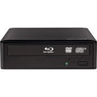 Buffalo MediaStation BRXL-16U3 Blu-ray Writer - TAA Compliant - BD-R/RE Support - 48x CD Read/48x CD Write/24x CD Rewrite - 12x BD Read/16x BD Write/8x BD Rewrite - 16x DVD Read/16x DVD Write/12x DVD Rewrite - Triple-layer Media Supported - USB 3.0