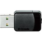 D-Link DWA-171 IEEE 802.11ac - Wi-Fi Adapter for Desktop Computer/Notebook - USB - 433 Mbit/s - 2.40 GHz ISM - 5 GHz UNII - External